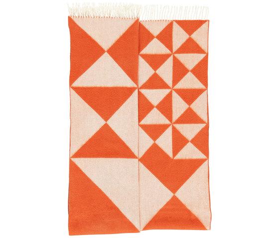 Mirror Throw | Orange by Verpan | Rugs