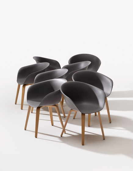Duna 02 by Arper | Chairs