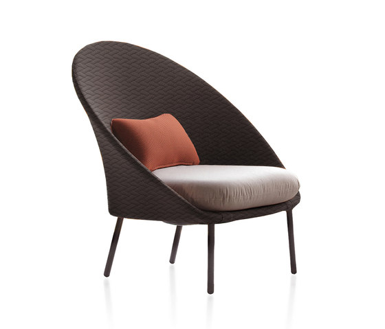 Twins Low armchair by Expormim | Armchairs