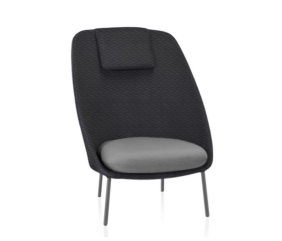 Twins High armchair by Expormim | Armchairs
