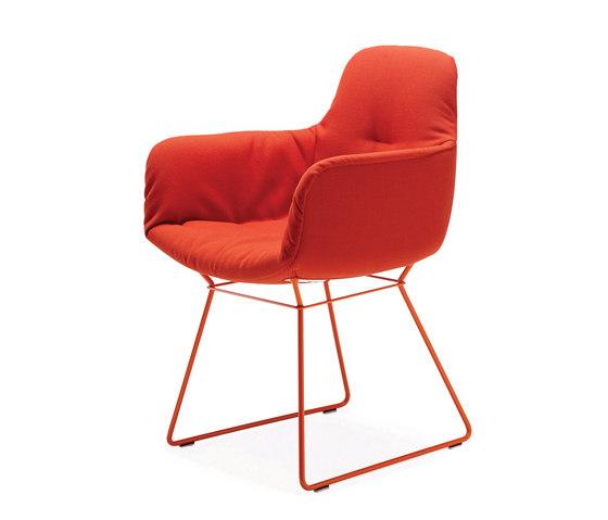 Leya | Armchair High mit Drahtgestell von FREIFRAU MANUFAKTUR | Stühle