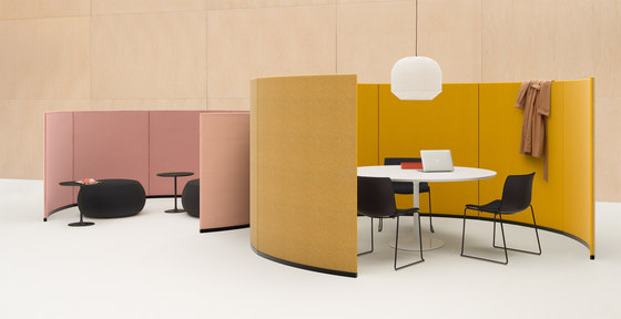 Paravan by Arper | Sound absorbing architectural systems