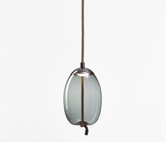 Knot Small Uovo PC1036 by Brokis | Suspended lights