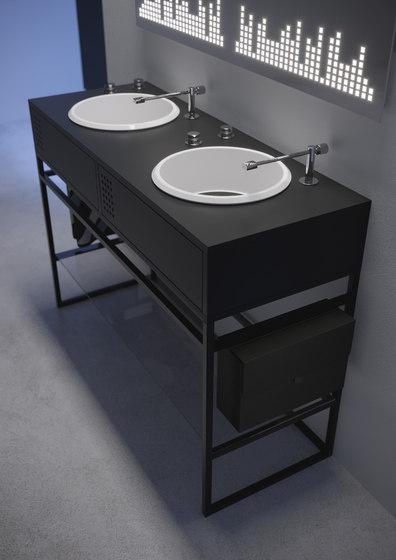 Vinyl doppio di Olympia Ceramica | Mobili lavabo