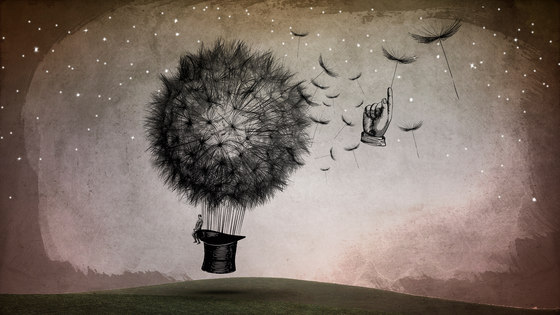 Sign | The Dream by INSTABILELAB | Wall art / Murals