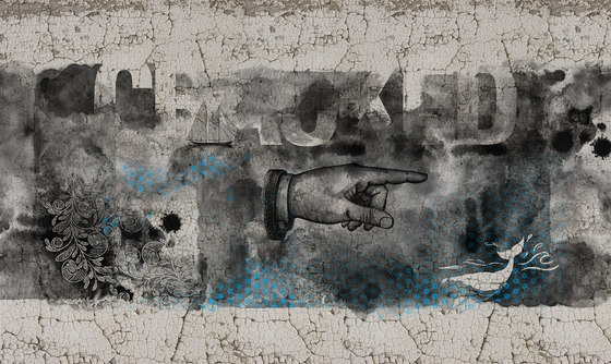 Sign | The Hand by INSTABILELAB | Wall art / Murals
