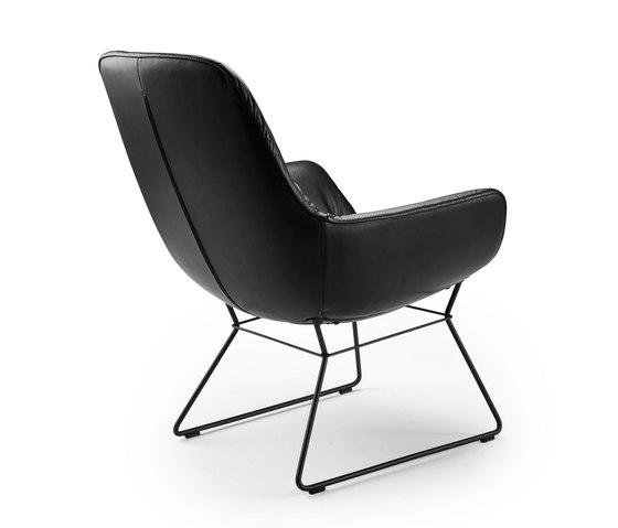 Leya | Cocktail Lounge Chair with wire frame de Freifrau Sitzmöbelmanufaktur | Sillones