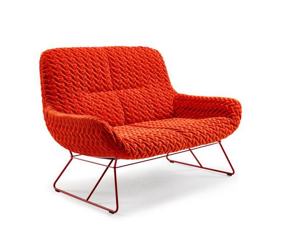 Leya | Lounge Couch de Freifrau Sitzmöbelmanufaktur | Sofás