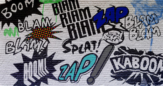 Teenager | I Graffiti Di Ale by INSTABILELAB | Wall art / Murals