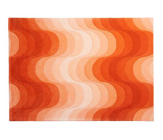 Wave Rug | Orange by Verpan | Rugs