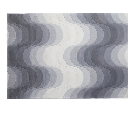 Wave Rug | Grey by Verpan | Rugs