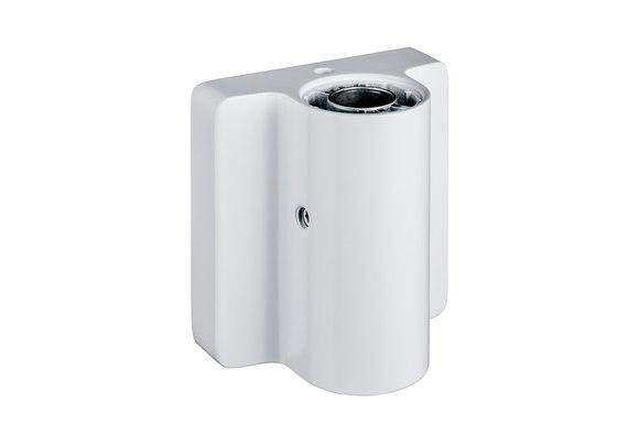 Attenzia task 4000 K, con abrazadera 1 (10-50mm), blanco de Novus | Lámparas de sobremesa
