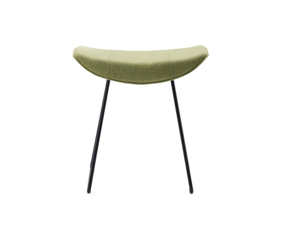 Kya | Stool Seat with wire frame by FREIFRAU MANUFAKTUR | Poufs