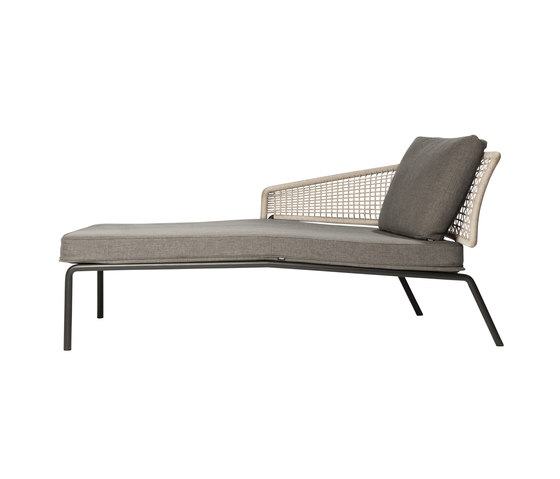 CTR Meridienne by Tribù | Chaise longues
