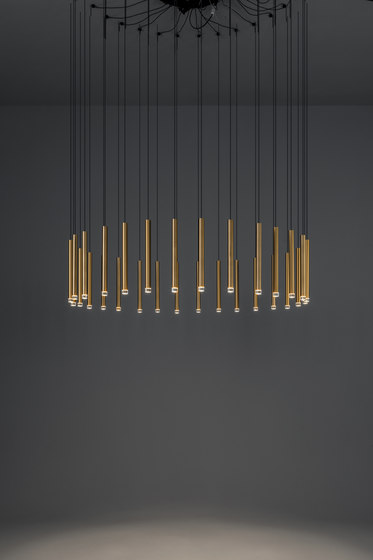 Candle Chandelier by GROK | Suspended lights