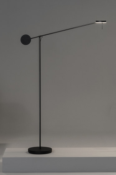 Invisible Floor by GROK | Free-standing lights
