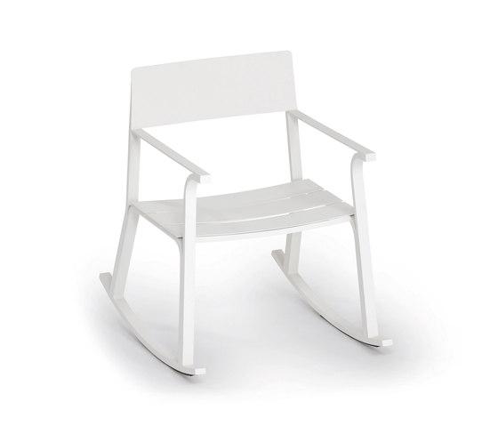 Flow Schaukelstuhl von Weishäupl | Sessel