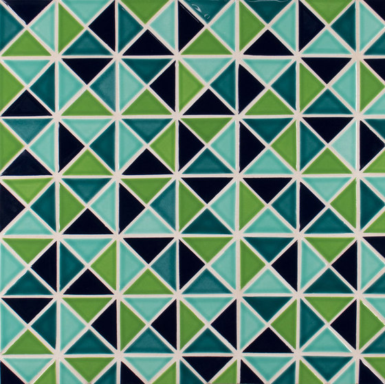 "2"" Triangle by Pratt & Larson Ceramics | Ceramic mosaics"