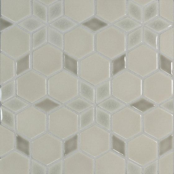 "2"" Hexagon Pattern #5 de Pratt & Larson Ceramics | Mosaïques céramique"