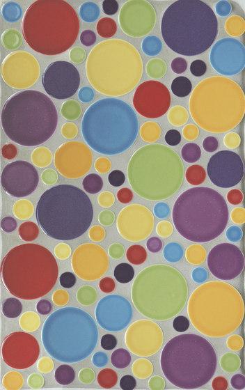 Multi-size circles de Pratt & Larson Ceramics   Mosaïques céramique