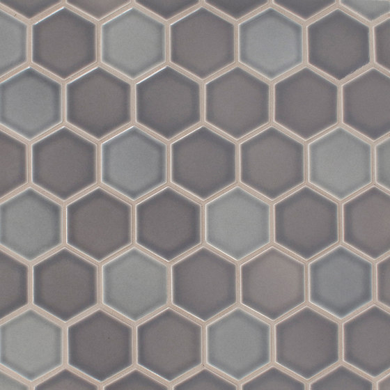"2"" Hexagon Netted by Pratt & Larson Ceramics 