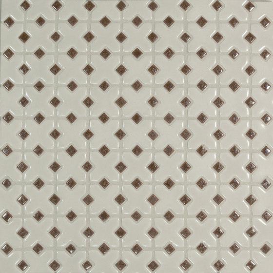 Mini Cross Pattern de Pratt & Larson Ceramics | Mosaïques céramique