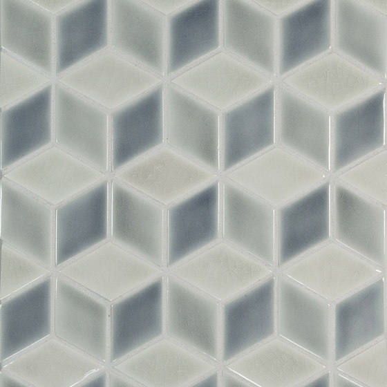 "3"" Diamond Pattern #1A von Pratt & Larson Ceramics | Keramik Mosaike"