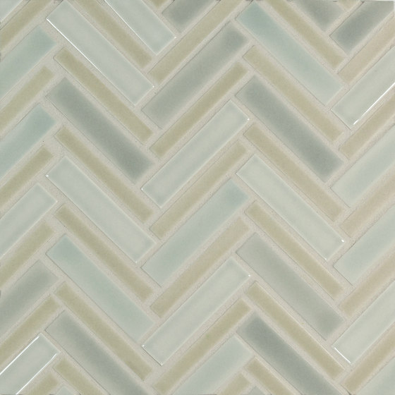 Multi-size Herringbone by Pratt & Larson Ceramics | Ceramic mosaics