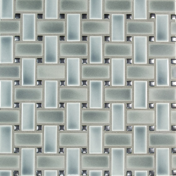 1x2 Basketweave de Pratt & Larson Ceramics | Mosaïques céramique