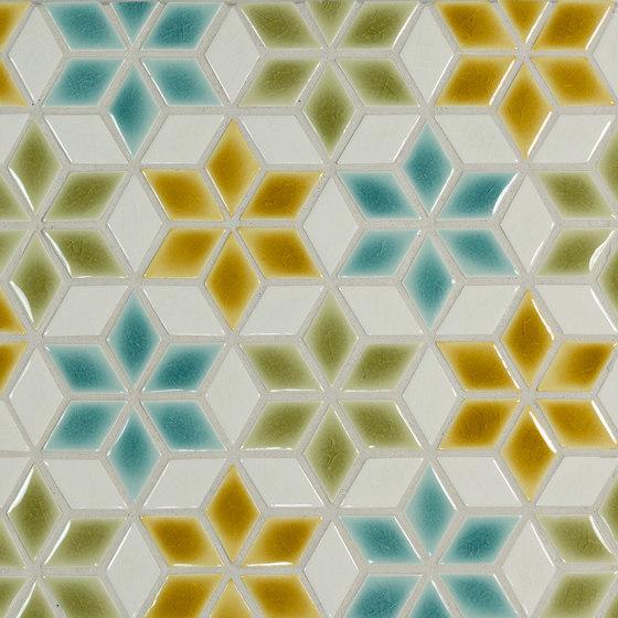 "2"" Diamond Pattern 1B di Pratt & Larson Ceramics | Mosaici ceramica"