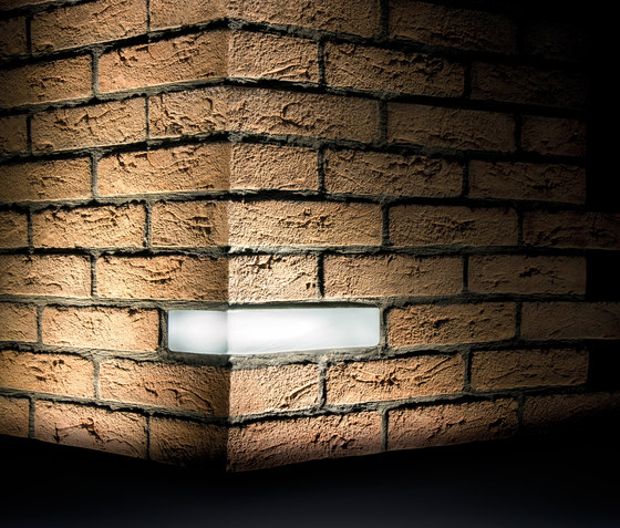 Brick Light Wall Recessed by Simes | Outdoor recessed wall lights
