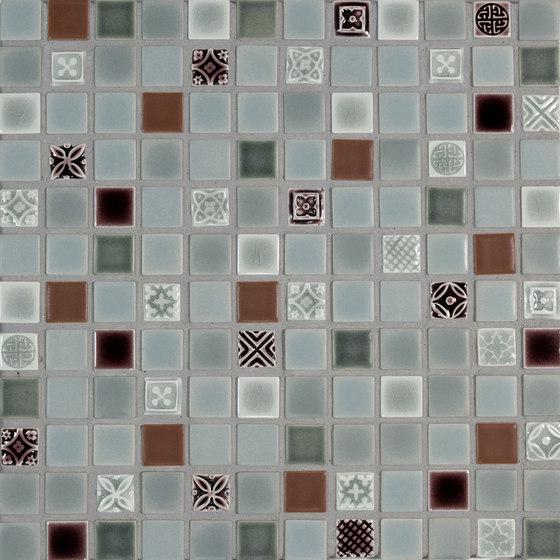 1x1 & AR 1x1 Field Netted by Pratt & Larson Ceramics   Ceramic mosaics