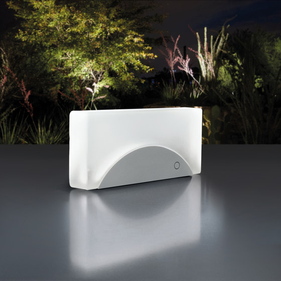 Brick Light Surface Mounted by Simes | Outdoor recessed wall lights