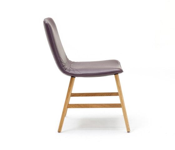 Amelie | Classic mit Holzzarge umlaufend von FREIFRAU MANUFAKTUR | Stühle