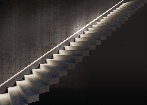 Ghost Lineare L 1570 di Simes | Lampade outdoor incasso parete