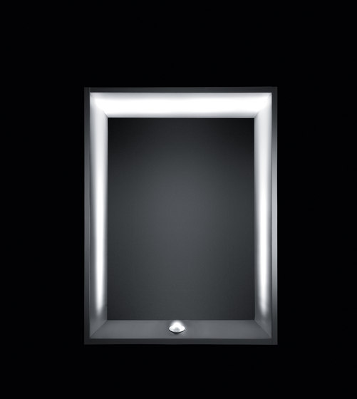 Nanoled Frame by Simes | Outdoor recessed wall lights