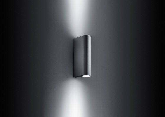 Megasmooth Doppia Emissione di Simes | Lampade outdoor parete