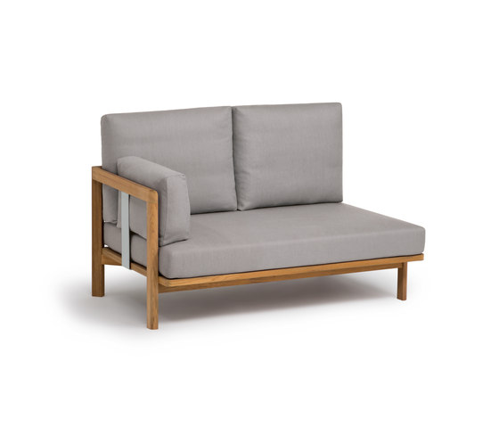 New Hampton 2-seater add-on-element by Weishäupl | Sofas
