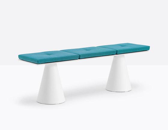 Ikon bench B863_4 by PEDRALI | Benches