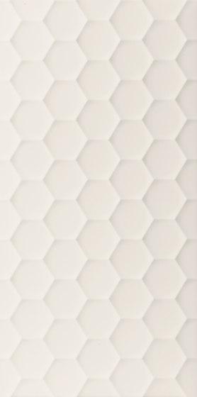 4D | Hexagon White Matt di Marca Corona | Piastrelle ceramica