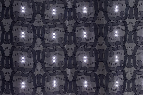 Organza Continuum | anthracite by Forster Rohner Textile Innovations | Drapery fabrics