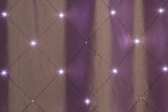 Sonus Crystal | eggplant by Forster Rohner Textile Innovations | Drapery fabrics
