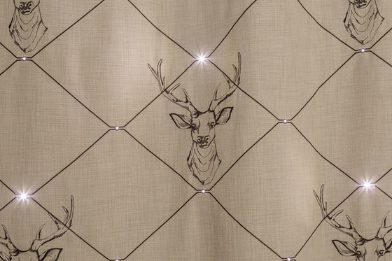 Dimout Jute-Stag | beige by Forster Rohner Textile Innovations | Drapery fabrics