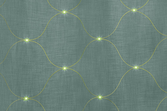 Dimout Jute-Curve | mint by Forster Rohner Textile Innovations | Drapery fabrics