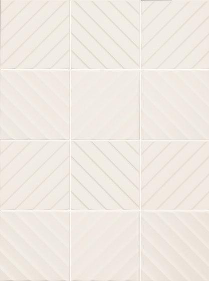 4D | Chevron White 20 di Marca Corona | Piastrelle ceramica
