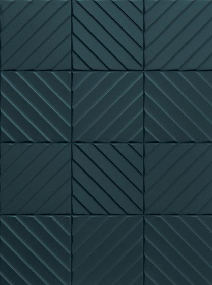4D | Chevron Deep Blu 20 di Marca Corona | Piastrelle ceramica