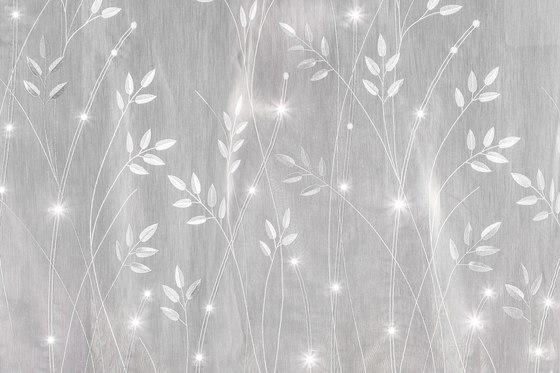 Sheer Meadow | white by Forster Rohner Textile Innovations | Drapery fabrics