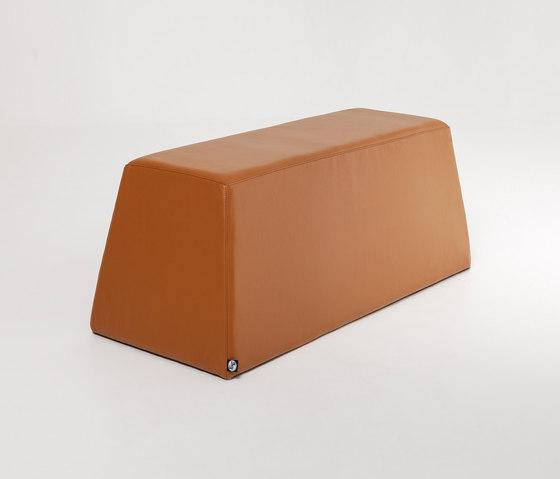 Steve | Bench Leather de Liqui Contracts | Bancos