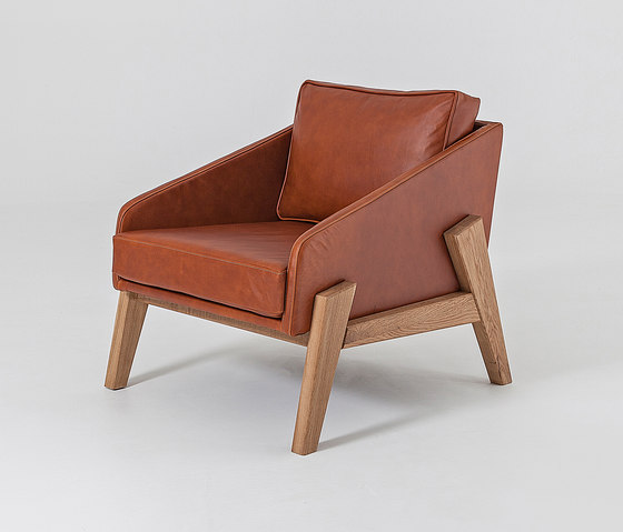 Cooper | Tub Chair Leather von Liqui Contracts | Sessel
