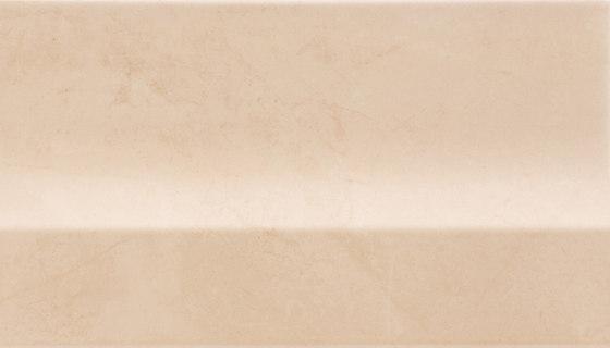 Deluxe | Beige Alzata de Marca Corona | Baldosas de cerámica